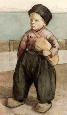 Little Dutch Boy  Marcia Oakes Woodbury (1865 – 1913)
