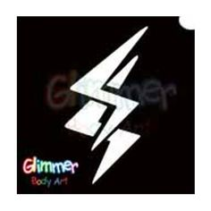 Glimmer Body Art Glitter Tattoos - Lightning (10/pack) by Glimmer Body Art. $5.00. Glimmer Body Arts Glitter Tattoos are non-latex, hypoallergenic and meet all cosmetic grade safety standards. Glitter Tattoos should not be applied to the face or eyes and stencils should be used only once.. Glimmer Body Art Glitter Tattoos are so easy to use that even a beginner can create amazing looking glitter tattoos in minutes. Glimmer Body Art Lightning Glitter Tattoos are...
