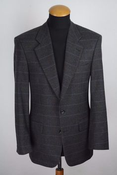 Yves Saint Laurent Men's Wool Blazer 38R (48 DE). Cloth: 100% wool. | eBay!