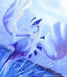 Blue by on DeviantArt Pokemon Dex, Pokemon Lugia, Mega Pokemon, Gold Pokemon, Pokemon Fan Art, Cute Pokemon, Deadpool Pikachu, Cool Pokemon Wallpapers, Pokemon Universe