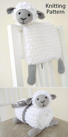 Animal Knitting Patterns, Crochet Blanket Patterns, Baby Blanket Crochet, Crochet Baby Jacket, Knitting For Charity, Knitted Animals, Knitted Baby Blankets, Loom Knitting, Knitting Projects