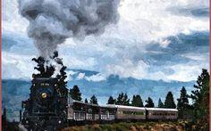 Elaborazione grafica - Treni peri, una poesia ed una immagine I treni persi, l'ho scoperto, ritornano, ripassano, con le tue mille possibili vite che ti sbeffeggiano dai finestrini. Una poesia di Laura Ruzickova accompagnata da una elaborazione grafica rappres #ruzickova #poesia #treno #grafica