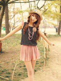 Japanese fashion style is so cute. #japanese #cute #girl