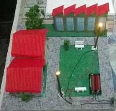 maqueta de circuito electrico