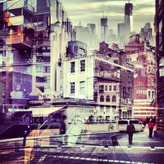 photo art urban fotokunst london new york daniella zalcman New York Pictures, New York Photos, Outfits Tipps, City Photography, Exposure Photography, Lomography, Built Environment, Cool Landscapes, Urban Landscape