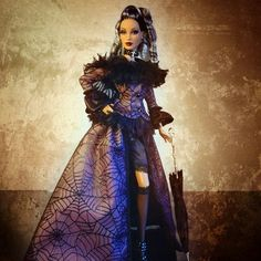 Official convention photo of AA doll Barbie Halloween, Barbie Convention, Glamour Dolls, Gothic Dolls, Beautiful Barbie Dolls, Monster High Dolls, Barbie Friends, Barbie World, Barbie Dress