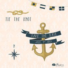 Nautical Wedding - Shh! Maker Design