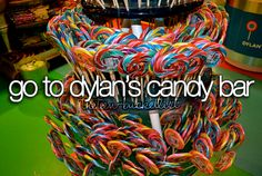 Go to Dylan's Candy Bar #BucketList