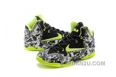 best service 61013 a9a5d Buy Discount Nike Lebron Xi Ps, Xdr Mens Black White Green Graffiti Printing  from Reliable Discount Nike Lebron Xi Ps, Xdr Mens Black White Green  Graffiti ...