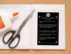 How to Make Your Own Death Note Notebook