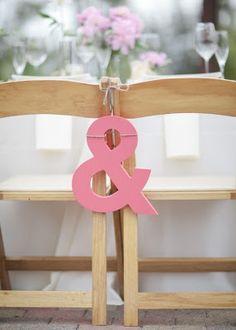 bride & grooms chair