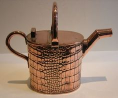 Antique English Copper Watering Can My Joseph Sankey - Rd. For 1901