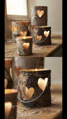 Cute candle holders