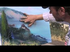 NEW Bob Ross artist video tutorial painting drawing lesson