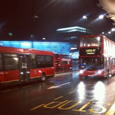 Dammit! Nothing soners you up like missing the #lasttrain and waiting for the #nightbus in the #rain #london #instagramyourcity #stratford - @thewinesleuth- #webstagram