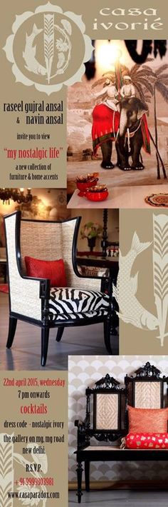 Casa Paradox is proud to announce the upcoming launch of their new brand - Casa Ivorie. Get a nostalgic dip into the colonial way of life and escape into the echoes of a perfect Indian Summer that encapsulates reminiscence and nostalgic living!