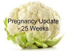 Weekly Pregnancy Symptoms & Update - 25 Weeks Pregnant - www.mamamim.com