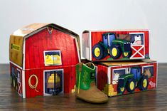 Johnny Poppers, from John Deere Packaging Design, Art For Kids, Cube, Product Launch, Big, Nashville, Illustration, Atlanta, Heart