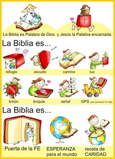 The bible is. Catholic Kids, Kids Church, Religious Education, Bible For Kids, Bible Crafts, Bible Stories, Bible Lessons, Christian Living, God Is Good