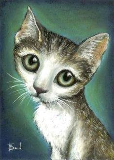 Graceful tabby kitten - 5x7 print by Tanya Bond. Starting at $5 on Tophatter.com!
