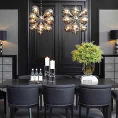 New releases. Everything Eichholtz. Find all these pieces online now at Regency Distribution. Residential Interior Design, Dining Table, Dining Rooms, Design Inspiration, Instagram, Furniture, Home Decor, Black Style, Contemporary Decor