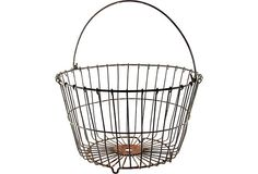 Wire Egg Basket  $79.00  ($199.00)  One Kings Lane