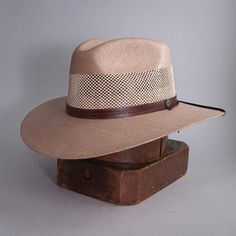 """The Florence Freedom Sun Hat combines the classic Panama hat style and comfort, without breaking the bank. Featuring a 3 1/2"""" wide brim, and a 4"""" breathable crown design, this hat is perfect for the days you'll spend lounging in a beach-side hammock sipping mojitos, or walking the streets of Havana. #hats #sunhats"""