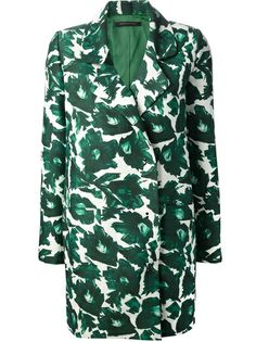 MOTHER OF PEARL Floral Print Coat