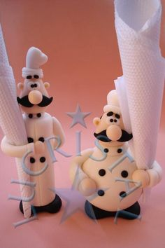 Chefs porcelana fria polymer clay pasta francesa masa flexible biscuit cake topper modelado modelling fimo