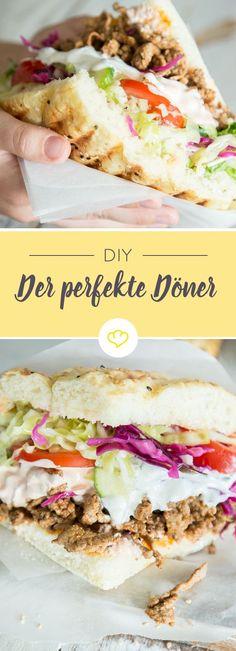 Salat alles? Chicken oder normal? Knoblauch, scharf?! Zum Mitnehmen? Mach dir deinen Döner wie er dir gefällt, mach ihn einfach selber!