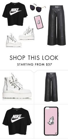 """""""Outfit random"""" by thebestmery on Polyvore featuring Puma, STOULS e NIKE"""