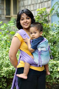 Wave on Purple - Cotton Ikat SoulTai #soulslings #soultai #ikat #babywearing #toddlerworthy #cottonsoultai #handwovenfabric