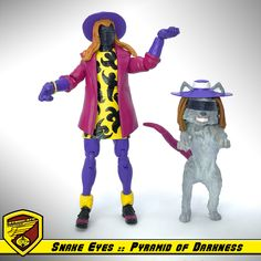 G.I. Joe - Cobra :: Snake Eyes & Timber in Boy George disguise from Pyramid of Darkness cartoon series