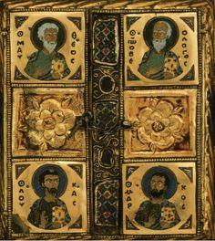 Η μεγαλύτερη εσωτερική βυζαντινή σταυροθήκη Τιμίου Ξύλου (κλειστή). http://leipsanothiki.blogspot.be/