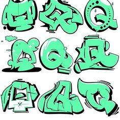Breakdance © Favorite one? Graffiti Doodles, Graffiti Drawing, Graffiti Alphabet, Alphabet Letters, Graffiti Lettering Fonts, Lettering Design, Hand Lettering, New York Graffiti, Street Art Graffiti