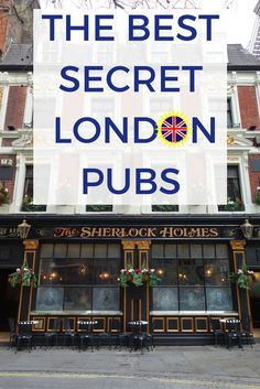 Where are the best hidden pubs in London?