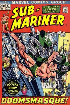 SUB-MARINER #47  MARVEL COMICS GROUP  MARCH 1972  $.20