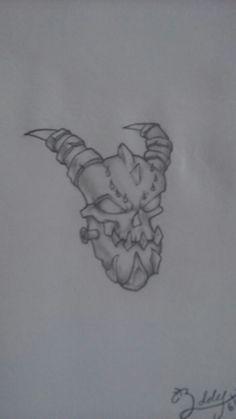Gems of war monster head i drew