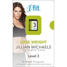 iFit Jillian Michaels Weight Loss Program Level 3 -- You can get more details by clicking on the image. (This is an affiliate link) #FitnessPlanners