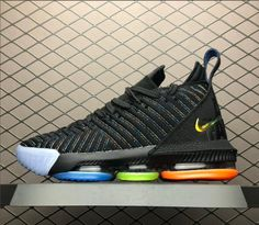 Shop Nike LeBron 16 Promise Black Multi-Color AO2595-004 3bcaac018