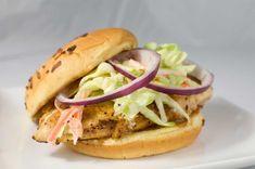 Receta de sándwich de pollo frito
