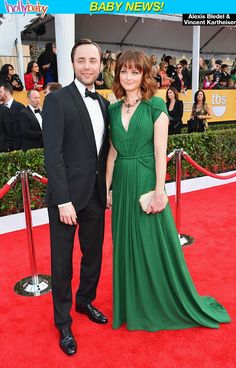 'Gilmore Girls' Star Alexis Bledel & Vincent Kartheiser Expecting Baby —Report