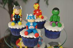 cupcake herois e vilões - marvel