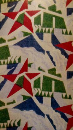 Designed by D. Textile Patterns, Textiles, Modern Times, 1930s, Flannel, Russia, Fabrics, Holiday Decor, Inspiration