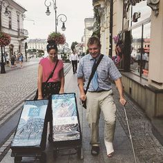 Nothing can stop these two pioneers from heading out for some public witnessing in Poland. Photo shared by @papryczka_design
