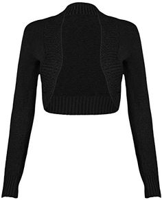 39f7823263 Amazon.com  Bargain Finds. Stretches. Ladies Girls Knitted Plain Stretch  long Sleeve Ribbed ...