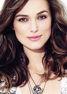 Keira Knightley; great makeup and hair