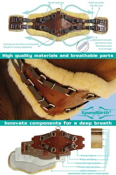 "About XpandGirth: ""I love it, my horses love it and I will never use another style girth again"". Still don't know? http://www.marjoman.net/en/content/15-xpandgirth"