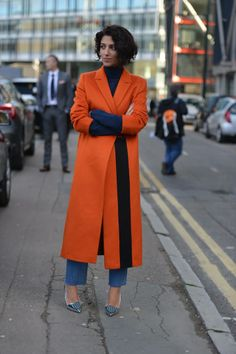 Yasmin Sewell at #LFW, snapped by @Melanie Bauer Galea for THE OUTNET