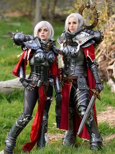 Warhammer 40k Memes, Female Armor, Female Pictures, Girl Gifs, Popular Culture, Female Characters, Nice Tops, Cosplay Costumes, Picture Video